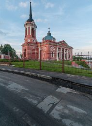 Церковь Рождества Христова, 1810-1823 гг., усадьба «Рождествено», XIX в.