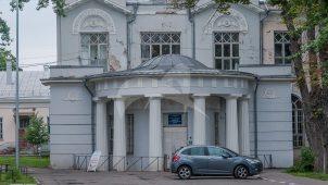 Аптека и дом служащих в ансамбле 1-й Градской больницы, XIX в.