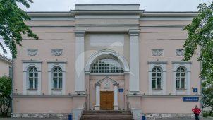 Административный корпус, 2-я половина XIX в. — 1910-е гг., ансамбль первой градской больницы