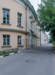 Два боковых корпуса, арх. М.Ф. Казаков, Голицынская больница, 1796-1801 гг.