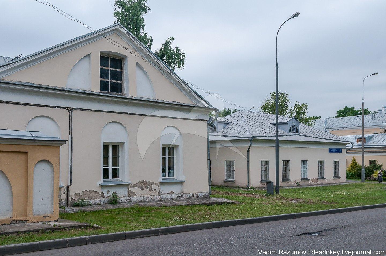 Больница для неизлечимых больных, 1803 г., арх. М.Ф. Казаков, ансамбль Голицынской больницы