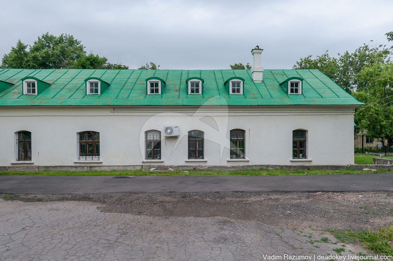 Службы (прачечная), 1803 г., арх. М.Ф. Казаков, ансамбль Голицынской больницы