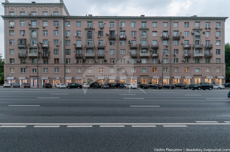 Жилой дом, 1939-1940-е гг., арх. А.Г. Мордвинов, Д.Н. Чечулин, ансамбль жилых домов, 1939-1940-е гг.