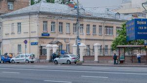 Западный флигель, ансамбль 2-й Градской больницы, конец XVIII — начало XIX вв.