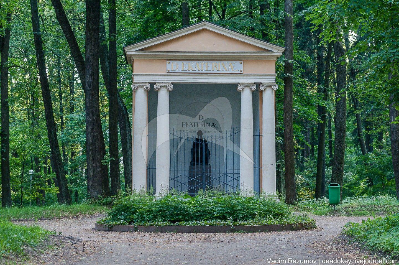 Храм-памятник Екатерине II, по модели М.И. Козловского, 1819 г., ансамбль усадьбы Архангельское