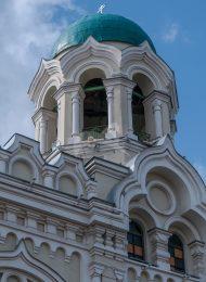 Святые ворота с колокольней, 1901 г., арх. Г.А. Кайзер, Никольский («Никола Старый») греческий монастырь
