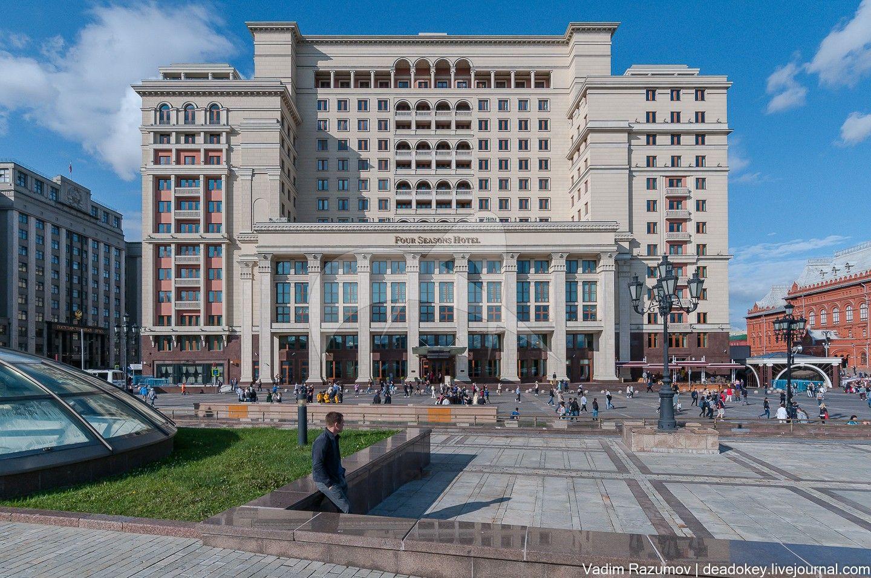 Гостиница «Москва», 1935 г., арх. А.В. Щусев, Л.И. Савельев, О.А. Стапран (воссоздание)