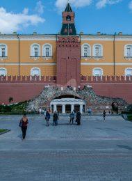 Средняя Арсенальная башня, ансамбль Московского Кремля