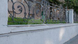 Ограда Московского университета — Московский государственный университет им. М.В. Ломоносова, начало XIX в.
