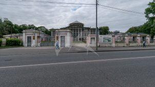 Ограда парадного двора, 1827 г., усадьба «Останкино»