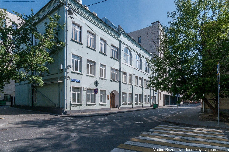 Здание, в котором в 1908-1921 гг. размещались Пречистенские рабочие курсы, 1908 г., арх. В.Н. Башкиров