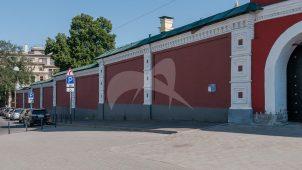 Стена-ограда, XIX в., ансамбль Зачатьевского монастыря