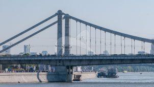 Крымский мост, 1936-1938 гг., арх. А.В. Власов, инж. Б.П. Константинов
