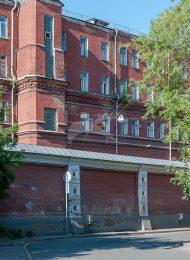 Южный корпус келий, начало XX в.,  ансамбль Зачатьевского монастыря