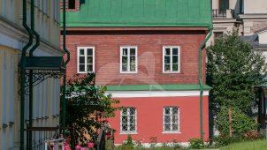 Северо-восточный корпус келий, XIX в., ансамбль Зачатьевского монастыря