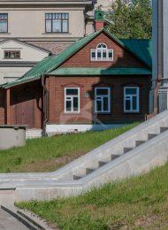 Деревянные келии, 2-я половина XIX в., ансамбль Зачатьевского монастыря