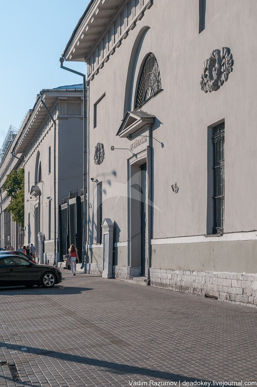 Провиантские магазины, 1832-1835 гг., арх. В.П.Стасов