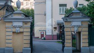 Ограда, XIX в., особняк М. Н. Макшеева-Мошонова