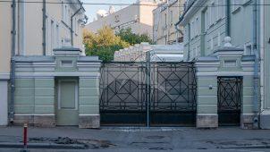 Пилоны северо-западных ворот, усадьба Николая Карловича фон Мекка (Самсонова), XIX в.