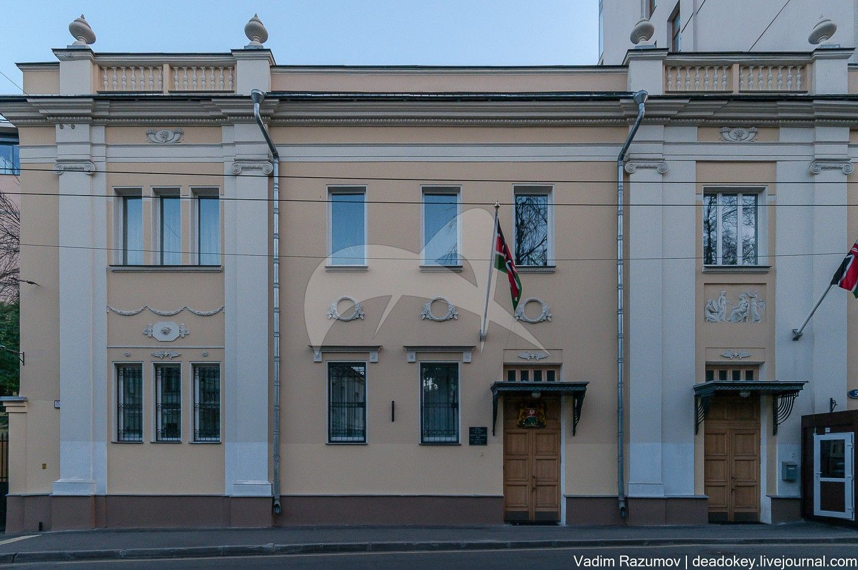 Жилой дом, 1876 г., арх. В.Н. Корнеев, 1911-1914 гг.,  арх. Н.Г. Лазарев