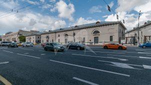 Корпус, комплекс трех корпусов провиантских магазинов, 1832-1835 гг., арх. В.П. Стасов