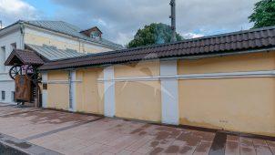 Ограда, середина XVIII в. — начало XIX в., городская усадьба Соллогуба