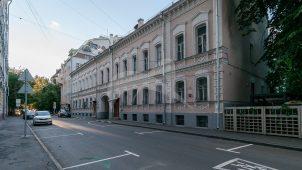 Жилой дом, 1868 г., арх. К.В. Гриневский. В этом доме жил Анучин Дмитрий Николаевич в 1910-1923 гг.