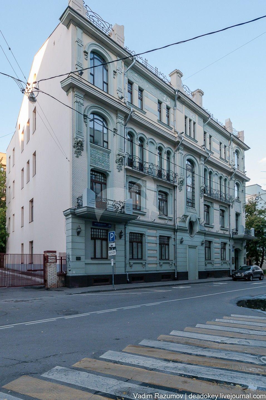 Жилой дом Ф.А. Александрова, 1902 г., арх. А.А. Остроградский