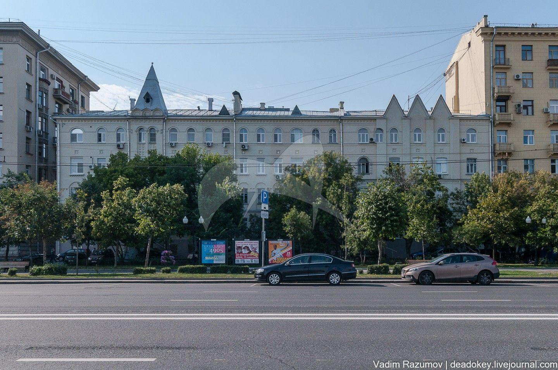 Доходный дом Чудова монастыря с приютом для сирот, 1915-1918 гг., арх. И.П. Машков