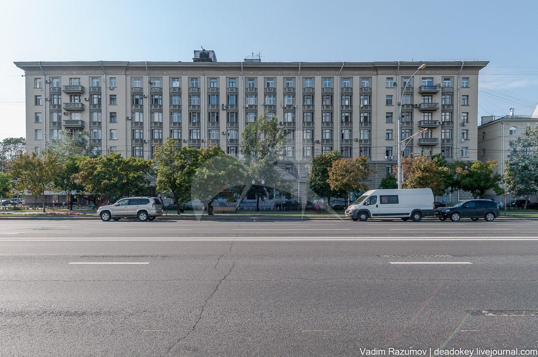 Жилой дом, 1951-1952 гг., арх. Г.К. Яковлев