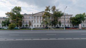 Три корпуса казарм, 1807-1809 гг. арх. М.Ф. Казаков, комплекс Хамовнических казарм