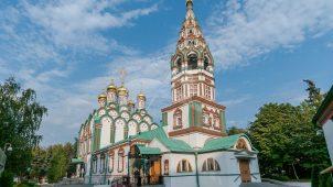 Церковь Николы в Хамовниках, 1679-1682 гг. с трапезной, начало XVIII в.