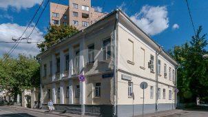 Дом, начало XIX в. , в котором в 1860-е гг. жил директор Румянцевского музея В.А. Дашков. В 1855 г. здесь жил художник, вице-президент Академии художеств Г.Г. Гагарин