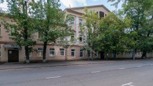 Средний корпус (главный дом), начало XIX в., городская усадьба Юшковых — фабрика Милюкова, конец XVIII — начало XIX вв.