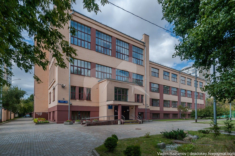 Школа, 1930 г., арх. М.И. Мотылев