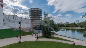 Башня Нагрудная, ансамбль Новодевичьего монастыря