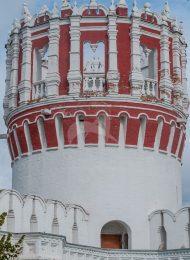 Башня Никольская, ансамбль Новодевичьего монастыря
