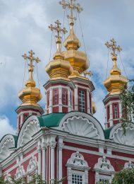 Преображенская церковь над северными воротами, 1688 г., ансамбль Новодевичьего монастыря