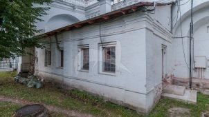 Сторожка, XVII в.  у северных ворот, ансамбль Новодевичьего монастыря
