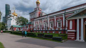 Трапезная, 1685-1687 гг., ансамбль Новодевичьего монастыря