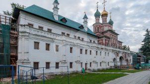 Палаты царевны Марии Алексеевны, 1680 г., ансамбль Новодевичьего монастыря