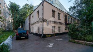 Хозяйственный двор (фрагмент), усадьба С.И. Пашкова