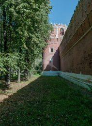Башня № 5 — круглая угловая, северо-восточная, ансамбль Донского монастыря
