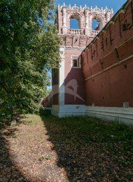 Башня № 4 — квадратная на северной стене, ансамбль Донского монастыря