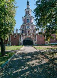 Тихвинская церковь над северными воротами, 1713-1734 гг., ансамбль Донского монастыря
