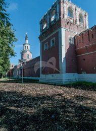Башня № 3 — квадратная на северной стене, ансамбль Донского монастыря
