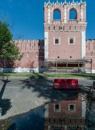Башня № 12 — квадратная на западной стене, ансамбль Донского монастыря