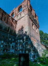 Башня № 9 — квадратная на южной стене, ансамбль Донского монастыря