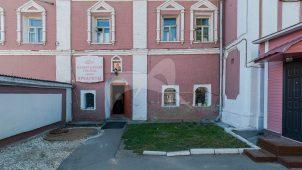 Монастырская канцелярия у западных ворот, 1734 г., 1873 г., ансамбль Донского монастыря