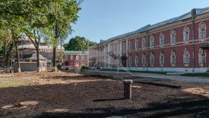 Больничный корпус, 1779 г., конец XIX в., ансамбль Донского монастыря
